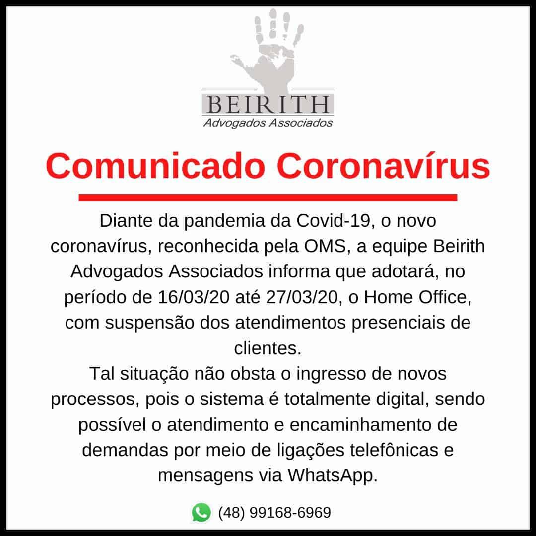coronavirus atendimento